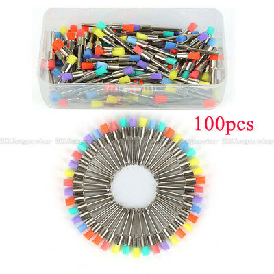 For Dentist 100 Pcs Dental Lab Nylon Materials Closure Small Prophylaxis Brushes