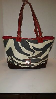 5fa9565220aa DOONEY   BOURKE Zebra Print Canvas