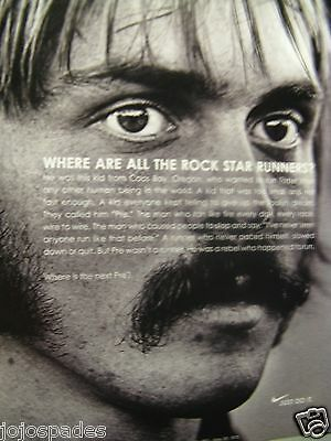Steve Prefontaine-2005 Nike Where Are The Rock Star Runners? Original Print Ad