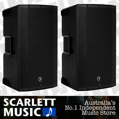 2x Mackie Thump 12A V2 Powered Speaker 12'' 1300w w/2CH Mixer *PAIR OF SPEAKERS*