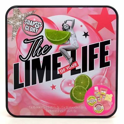 Soap And Glory The Lime of your Life Sugar Crush Christmas Gift Set New