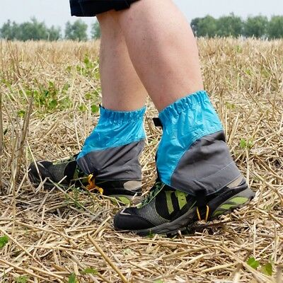 1Pair Waterproof Outdoor Hiking Walking Climbing Hunting Snow Legging Gaiters au