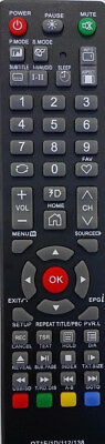 SONIQ TV Remote for SONIQ model QT1D - NO SETUP NEEDED