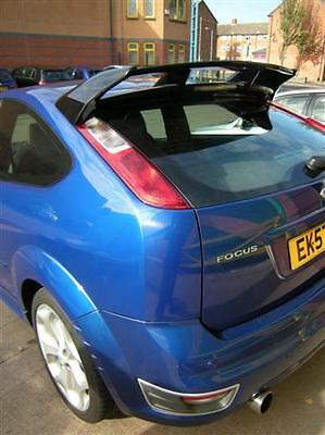 ford focus mk2 rs look spoiler roof spoiler very good. Black Bedroom Furniture Sets. Home Design Ideas