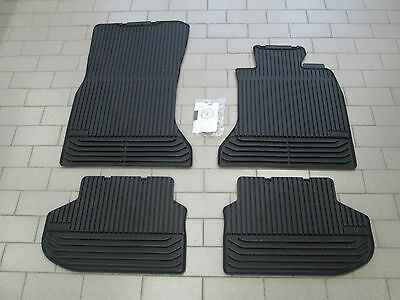 Brand New Genuine BMW F10 5 Series Tailored Rubber Car Mats Front & Rear