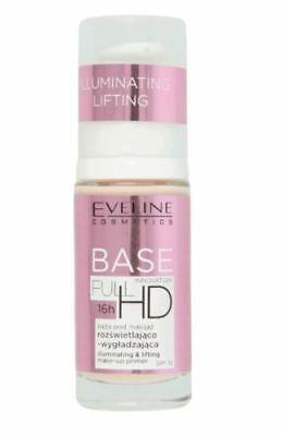 EVELINE COSMETICS FULL HD 16Hrs MAKE-UP BASE ILLUMINATING & LIFTING PRIMER