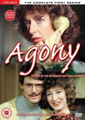 Agony - Complete  Series 1 - Simon Williams, Maureen Lipman DVD All 6 Episodes