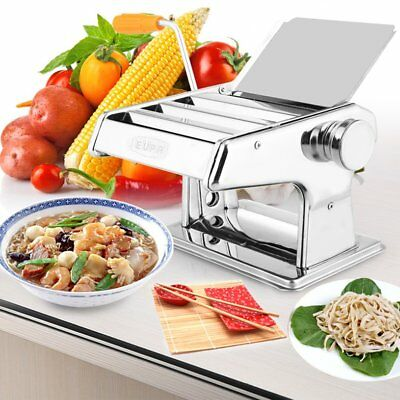 Pasta Noodle Maker Machine Cutter For Fresh Spaghetti 6 Thickness Settings OZ