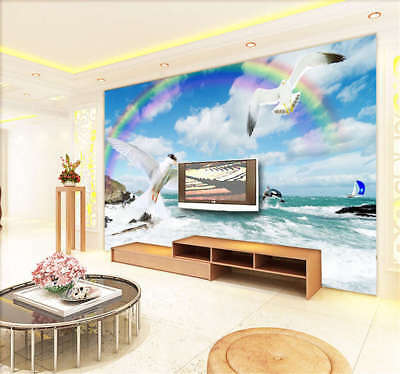 Bright Sober Sky 3D Full Wall Mural Photo Wallpaper Printing Home Kids Decor