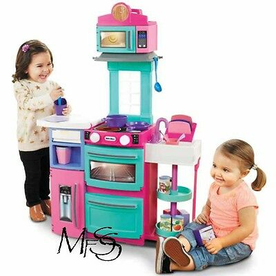 Little Tikes Cook n' Store Kitchen Pink * Brand New