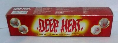 4X DEEP HEAT Rub Instant pain Aches relief heat therapy muscle stiffness 45g