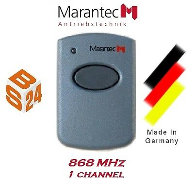 Marantec 321 Remote Control 868MHz 1 Channel Hand Transmitter Garage Door Opener