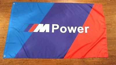 car racing banner for BMW //M power flag 3x5ft free shipping Advertising p