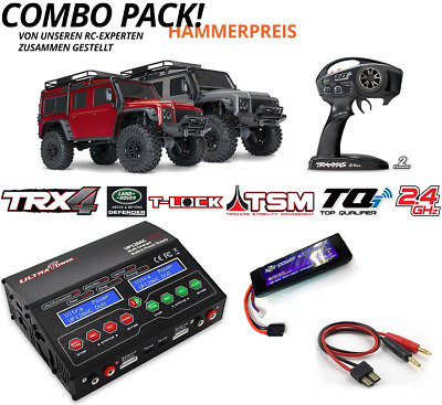 Traxxas Sparset 10 TRX-4 Land Rover Defender 1:10 4WD RTR TRX82056-4