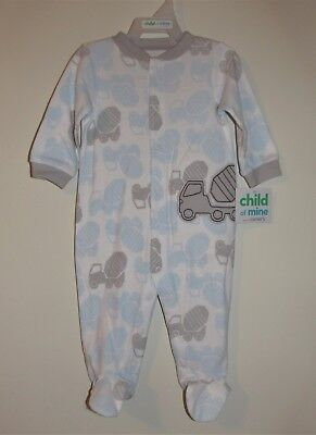 Carters Infant Boys Sleep N Play One-Piece (Size 3-6 M) BRAND NEW W TAGS