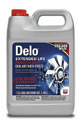 DELO 227811499 Ext.-Life Prediluted 50/50 Antifreeze/Coolant PDC0110 (6-Pack)