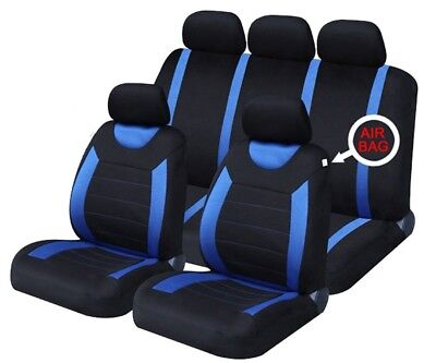 Blue Carnaby Luxury Full Set Car Seat Covers FOR DACIA SANDERO STEPWAY 13-ON