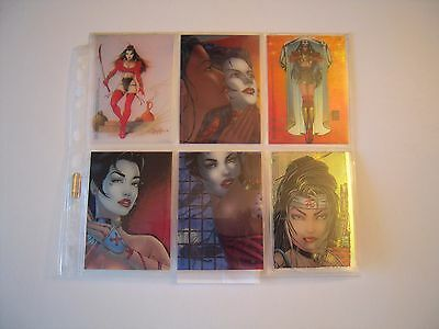 Shi Ii Trading Cards   Chase   Set   De 6 Clearchrome 1996 Tbe
