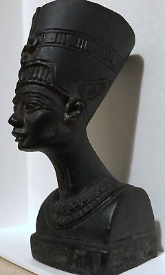 Ancient Egyptian Pharaoh Head And Shoulders Bust Free Post UK Ship Worldwide