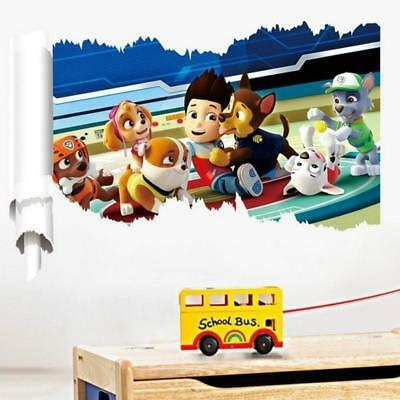 autocollant mural pat patrouille paw patrol pour enfant chien sticker kids eur 6 90 picclick be. Black Bedroom Furniture Sets. Home Design Ideas