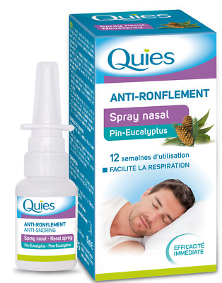 Quies Spray Nasal Anti-Ronflement 15ml