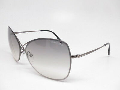 bb5d12b80344b New Authentic Tom Ford TF 250 Colette 08C Gunmetal with Grey Gradient  Sunglasses