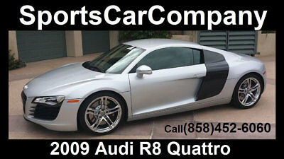 2009 Audi R8 R8 QUATTRO 6 SPEED 2009 AUDI R8 QUATTRO CALIFORNIA CAR MANUAL 6 SPEED SUPERB IN & OUT REDUCED $5k!