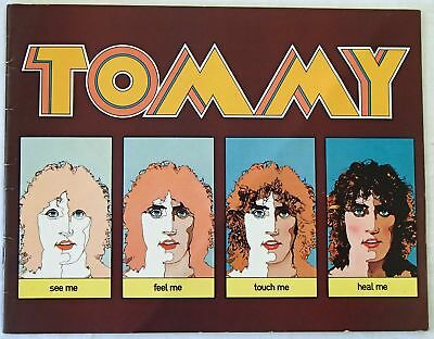 The Who Tommy The Movie by Ken Russell Original Theatre Program