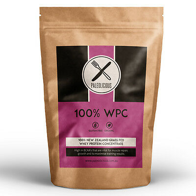 100% Grass Fed New Zealand Whey Protein Concentrate (WPC) - 3kg