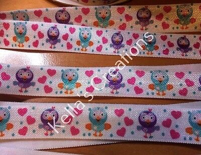 Giggle & Hoot Fold over elastic Foe sold by 2 M -Craft -Hair ties
