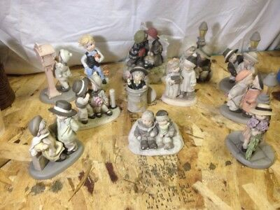 Kim Anderson Figurine Lot Of 11 Youre My Only Love Sealed Kiss Greatest Gift