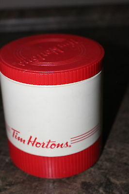 """Tim Hortons Aladdin Hot or Cold Thermos Container Liquid Lid for Freezing 4 1/2"""""""