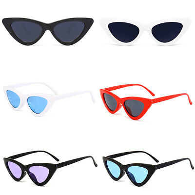 Unisex Womens Mens Retro Vintage Cat Eye Round Glasses Fashion Sunglasses New AU