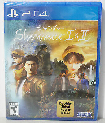 Shenmue I & II (1 & 2)  (Sony PlayStation 4, 2018) - BRAND NEW & FAST SHIP USA