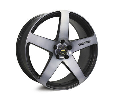 AUDI  Q3 WHEELS PACKAGE: 20x8.5 20x10 Simmons FR-C Black Tinted and Continental