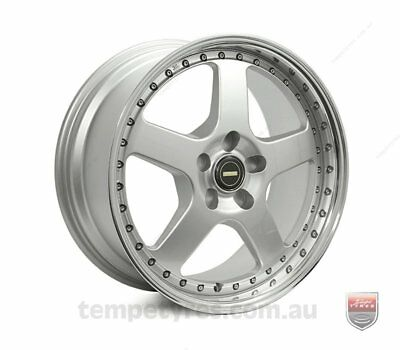 LAND ROVER DISCOVERY 4 WHEELS PACKAGE: 18x8.5 18x9.5 Simmons FR-1 Silver and Mic