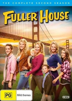 BRAND NEW Fuller House : Season 2 (DVD, 2017, 2-Disc Set) *PREORDER R4 Full