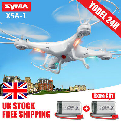 Syma X5A-1 2.4G 4CH 6-Axis GYRO RC Quadcopter Drone Headless 3D Flip Helicopter