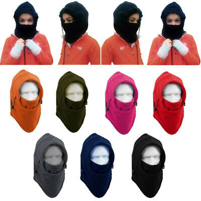 Men Women Balaclava Hood Hat Ski Motorcycle Neck Face Mask Winter Warmer Cap