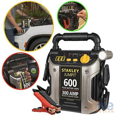 Battery Jump Starter Portable Air Compressor Peak Power Booster Pack Car Charger