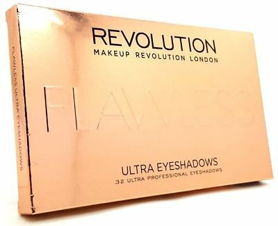 Makeup Revolution Ultra Eyeshadows Flawless Matte Palette 32 Shades