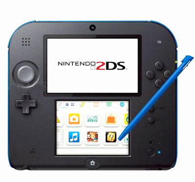 4pcs Stylus For Nintendo 2DS Slot in Touch Pen Set Red Blue White & Black WF