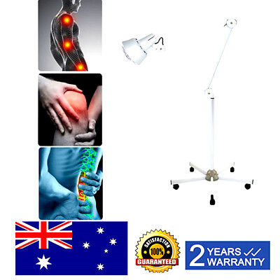 Floor Stand Mineral Light Infrared Heat Therapeutic Therapy Lamp Pain Relief