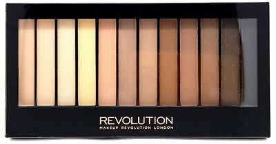 Makeup Revolution Redemption Eyeshadow Palette Iconic Elements Neutral Nude New