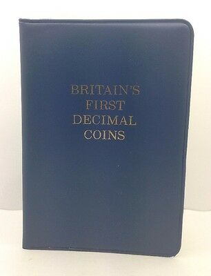1971 Britain's First Decimal Coins Set  - Uncirculated #40184