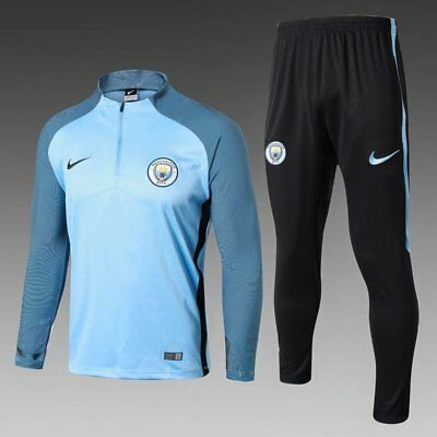 Training tracksuit Manchester City 2017 2018 Blue