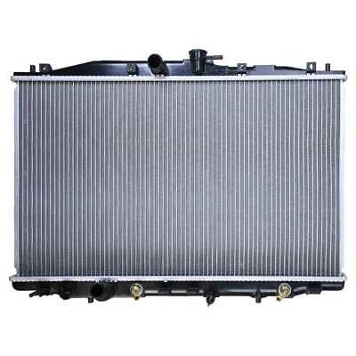 New Complete Cooling Aluminum Radiator Assembly fits 2004-2005 Acura TSX 2.4L L4