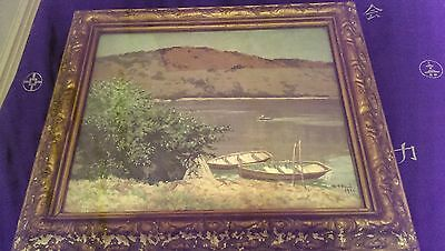 D. G. Reid Painting 37 x 52 cm bargain for the collector