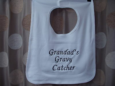 Grandad's Gravy Catcher giant adult bib