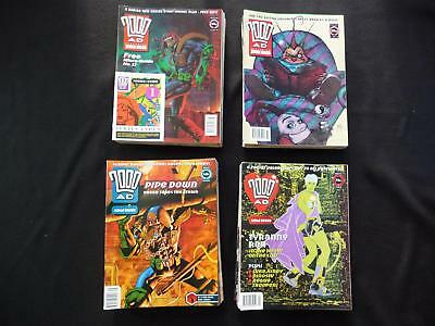 2000ad progs 800-899 comics - 100 comic collection - All free gifts (LOT#1223)
